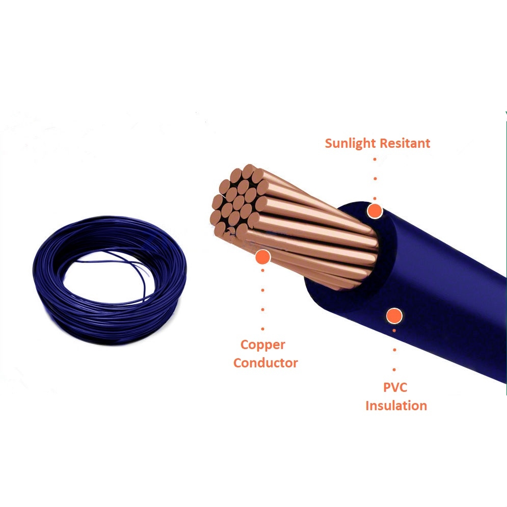 RV Copper Core PVC Insulation Jointed Flexible Wire